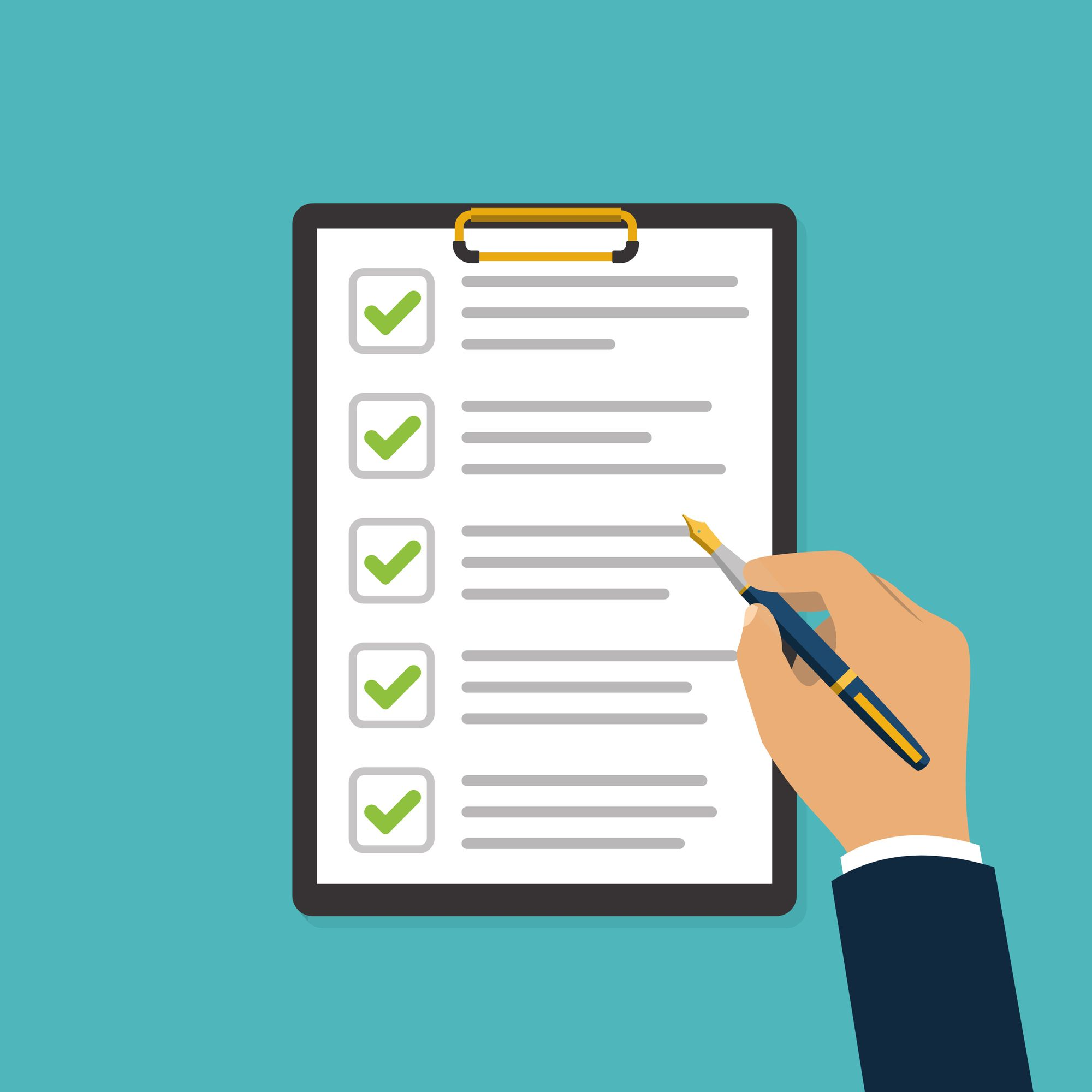 Pre-Tenancy Requirements - Compliance Checklist
